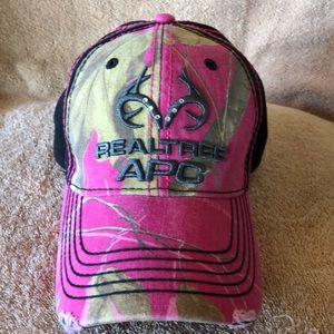 Realtree Pink Camo Baseball Cap